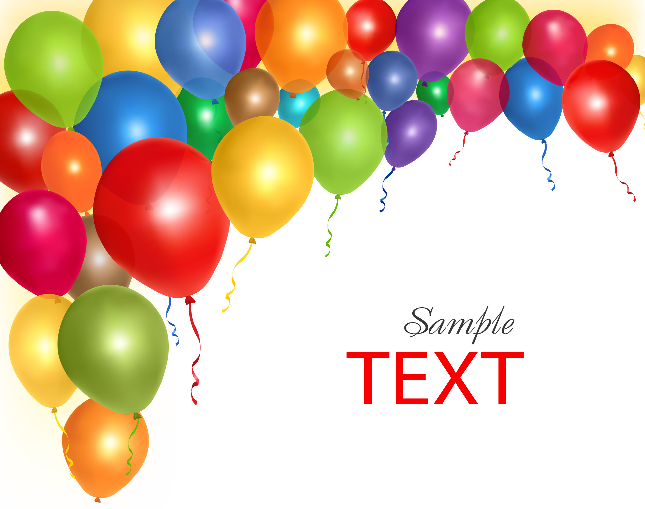 16 Birthday Balloon Free Vector Clip Art Images