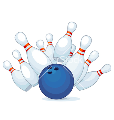 9 Bowling Vector Art Images