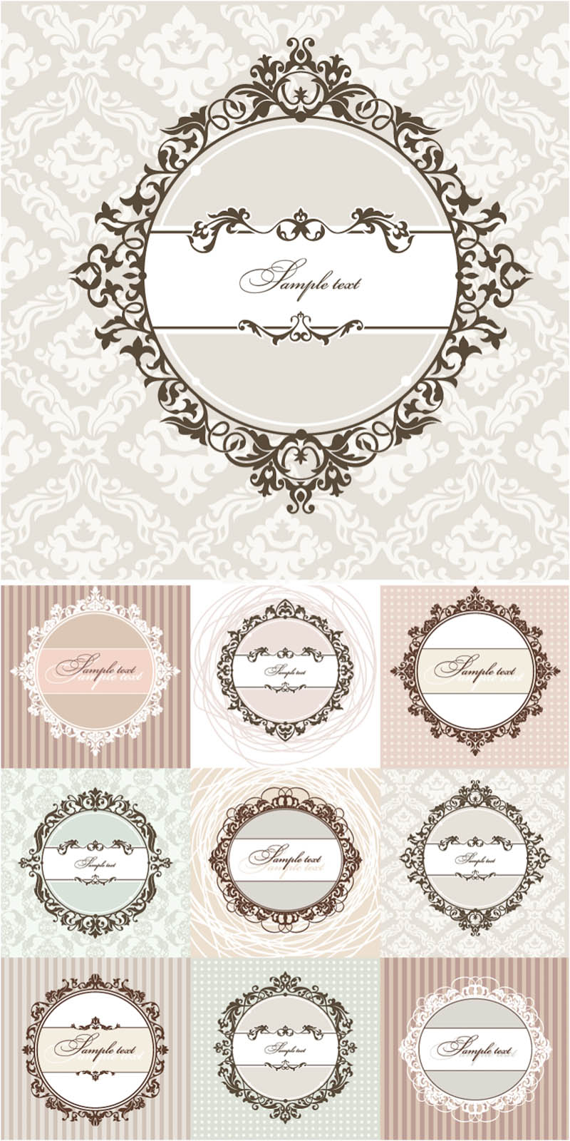 18 Free Vintage Vector Art Images