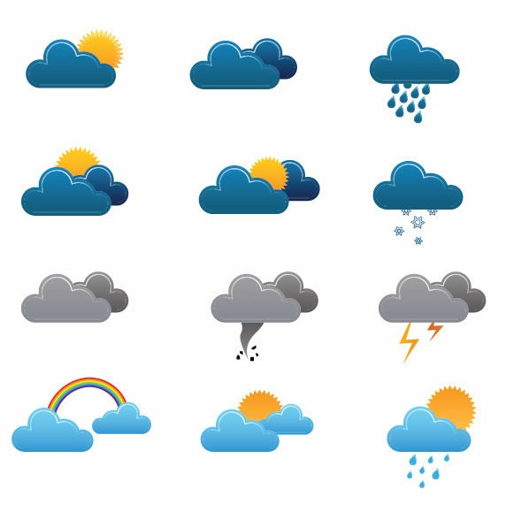 17 Weather Vector Art Images