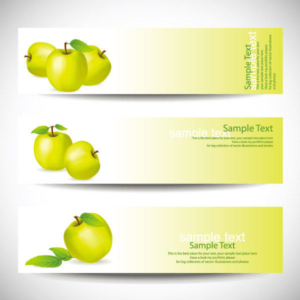 Fruit Banner Border