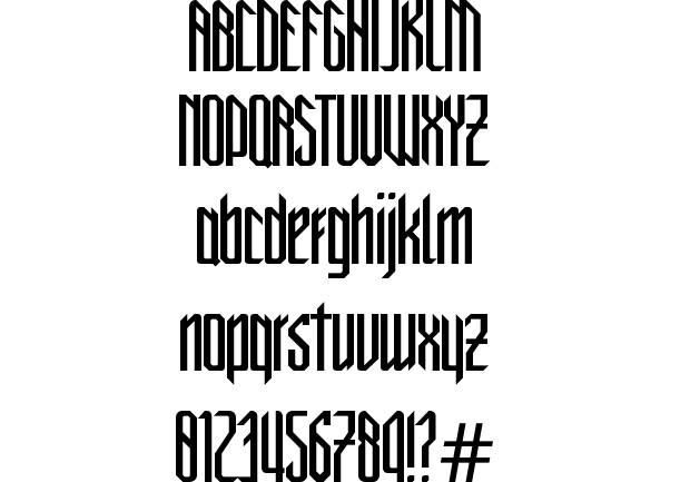 Gothic Font Styles