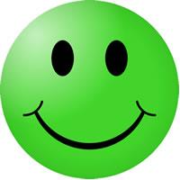15 Green Smiley Emoticon Images