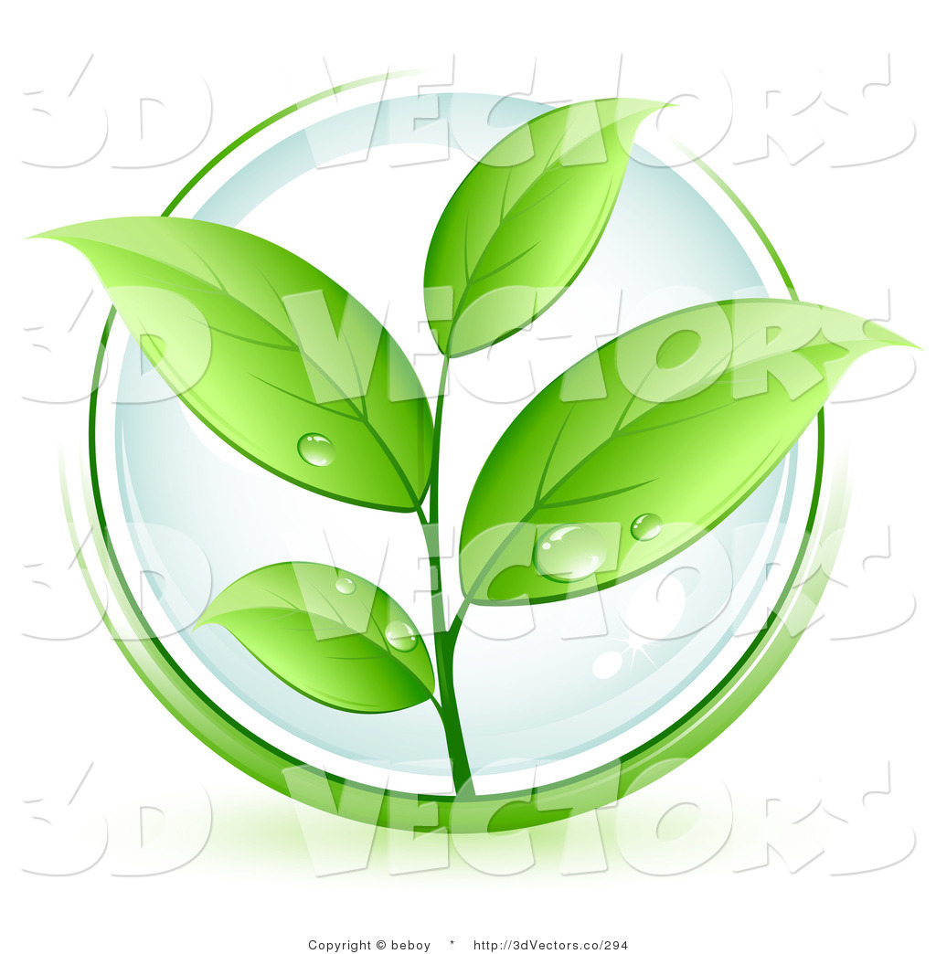 Green Leaf Plant Clip Art