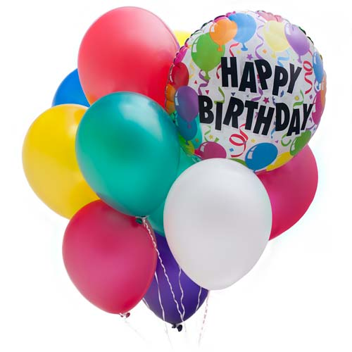 Happy Birthday Wishes Balloons