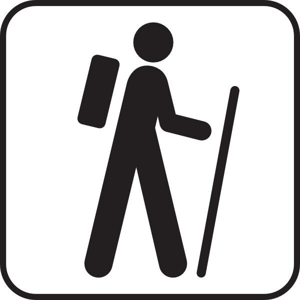 10 Man Hiking Icon Images