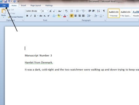 How Do You Open a Microsoft Word Document