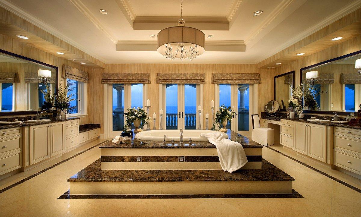 Huge Luxury Master Bathrooms