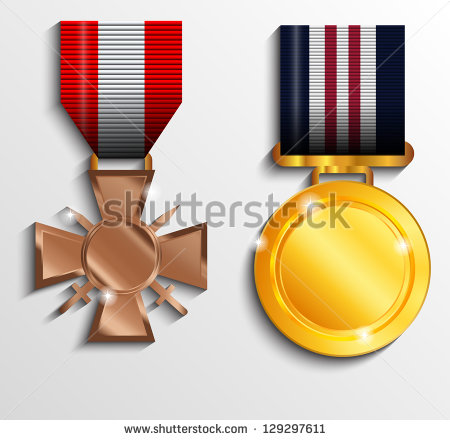 Illustration Military Medals