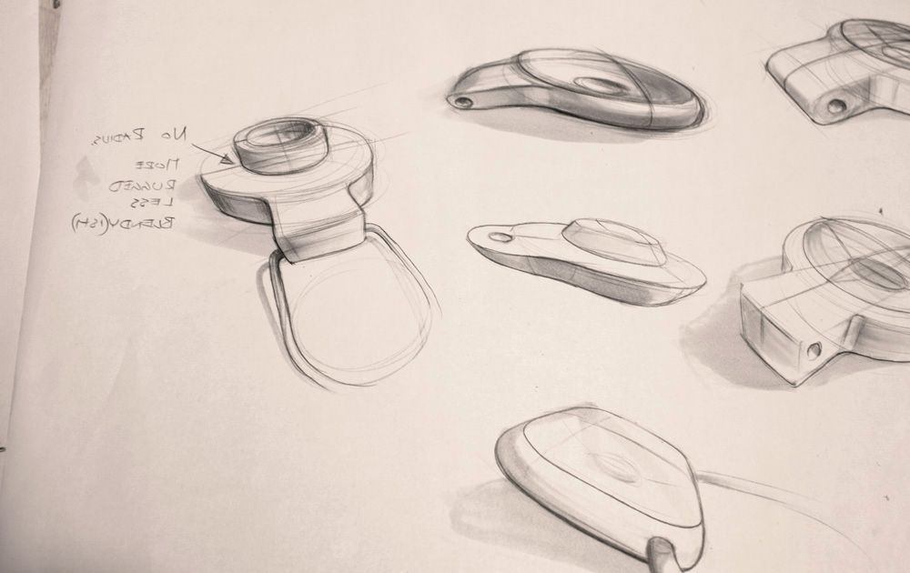 Industrial Design Furniture Sketch