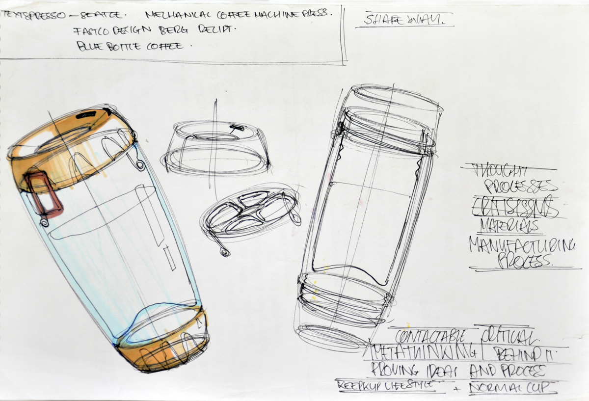 product design concept sketches