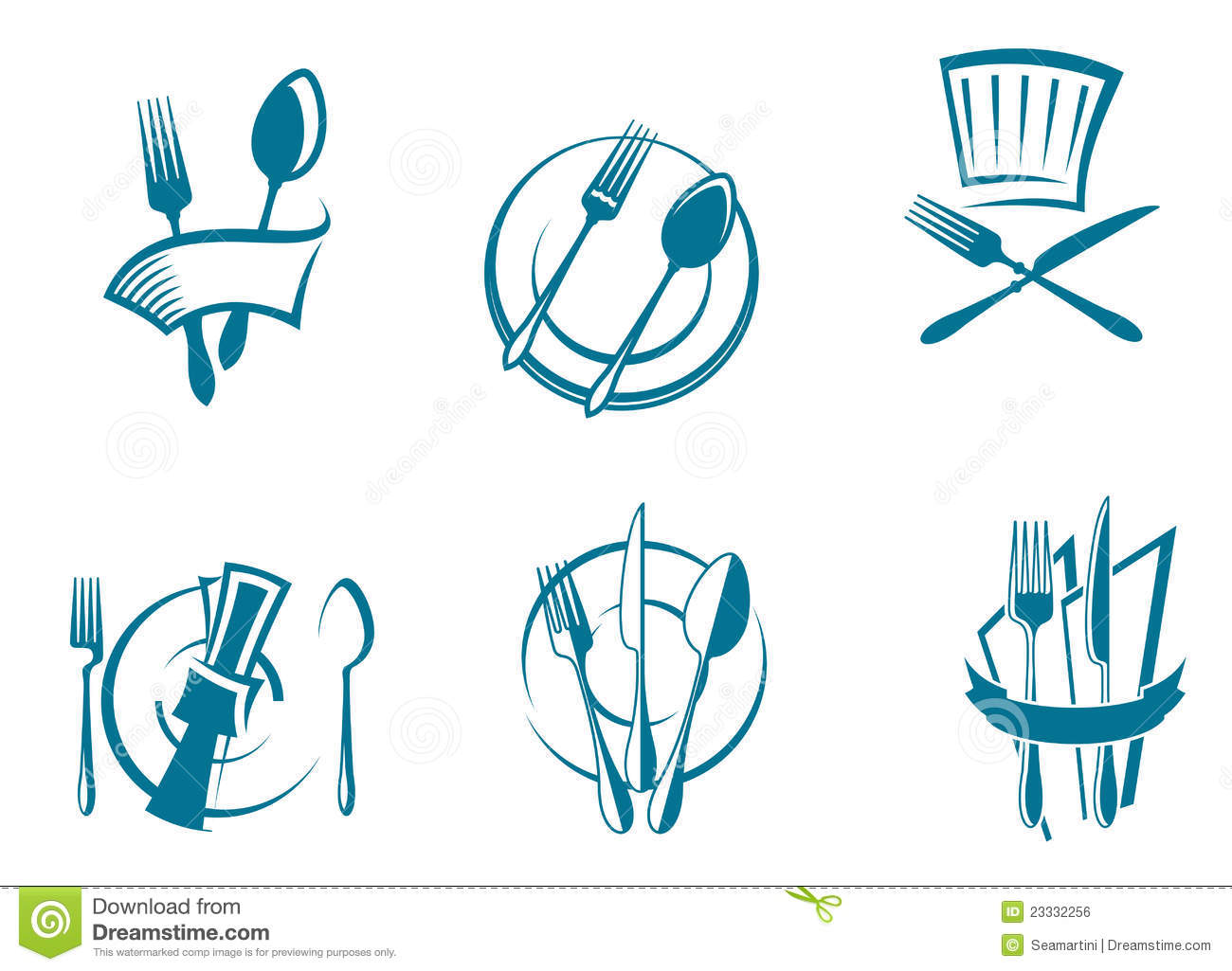 10 Restaurant Menu Icons Images