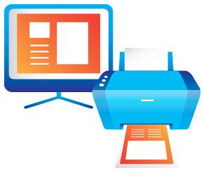 Microsoft Office Print Icon