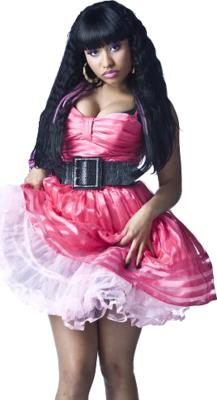 12 Pink Nicki Minaj PSD Images
