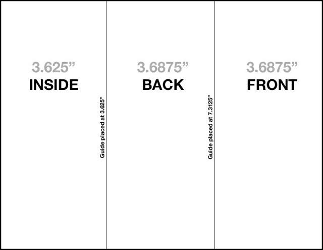 Photoshop Tri-Fold Brochure Template