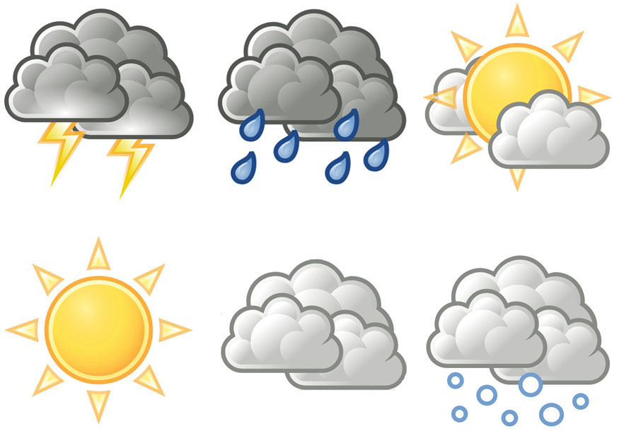 8 Printable Weather Icons Images