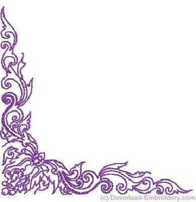 Borders Designs Of Flowers Border With Flower