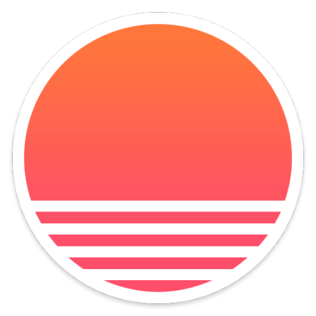 12 Sunrise Calendar Icon Images