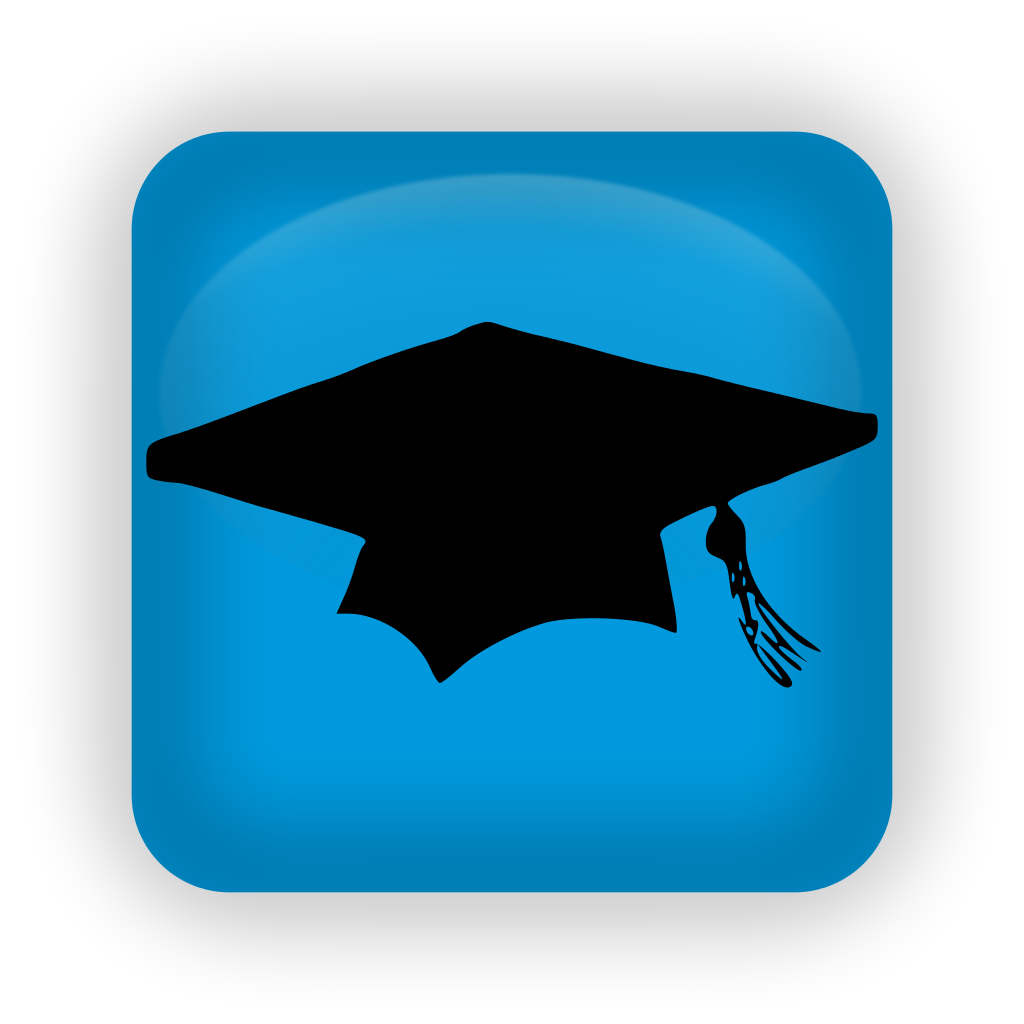 13 Education Icon Blue Images