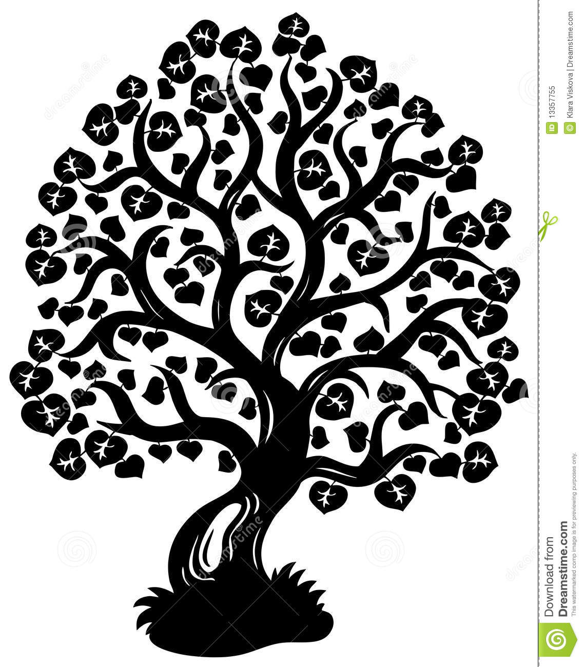 clip art tree silhouette - photo #36