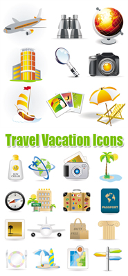 Vacation Travel Clip Art Free