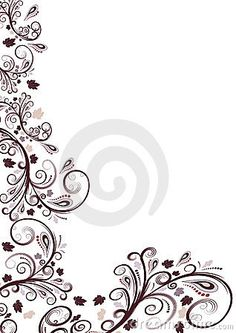 Vector Floral Border Designs