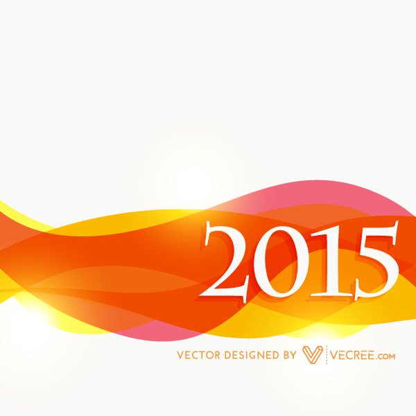 Vector New Year 2015