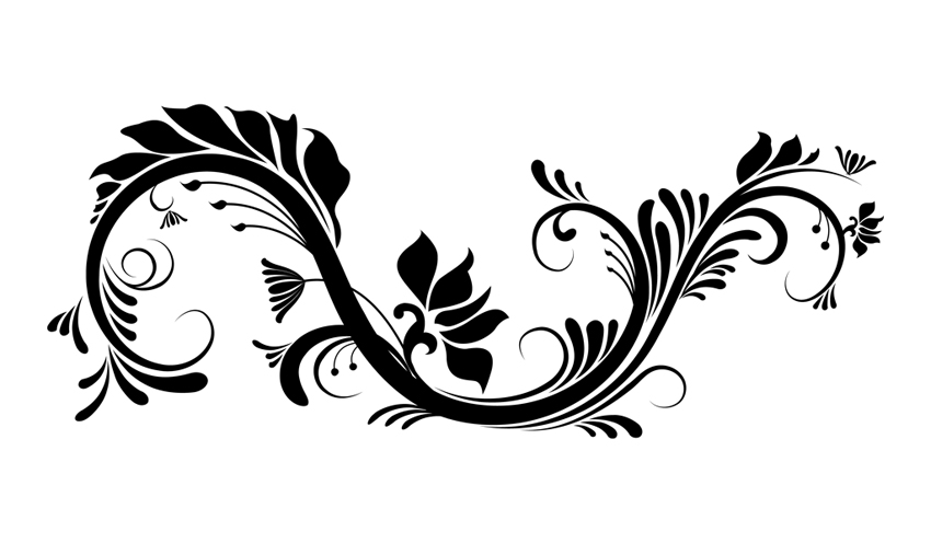 Vector Swirl Clip Art