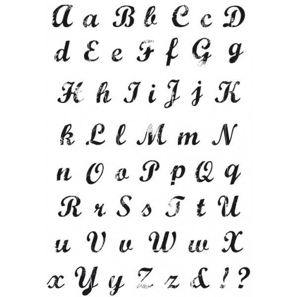 13 Vintage Calligraphy Font Images