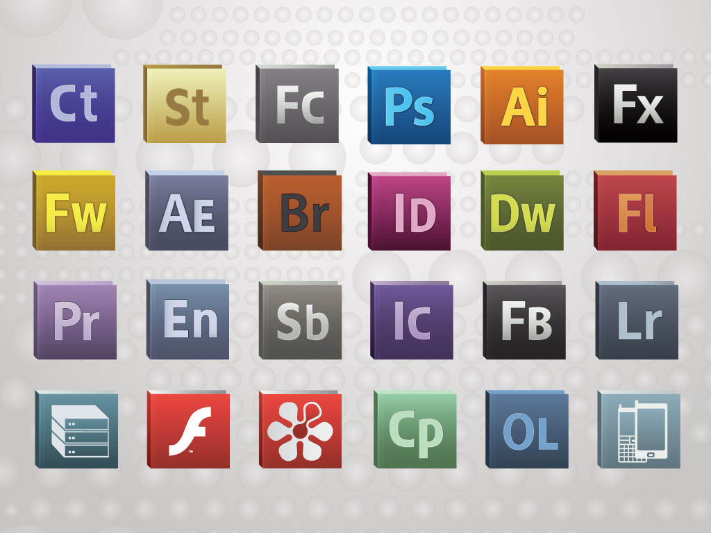 13 Adobe Icons Vector Images