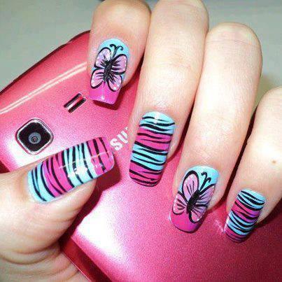Amazing Nail Art Butterfly