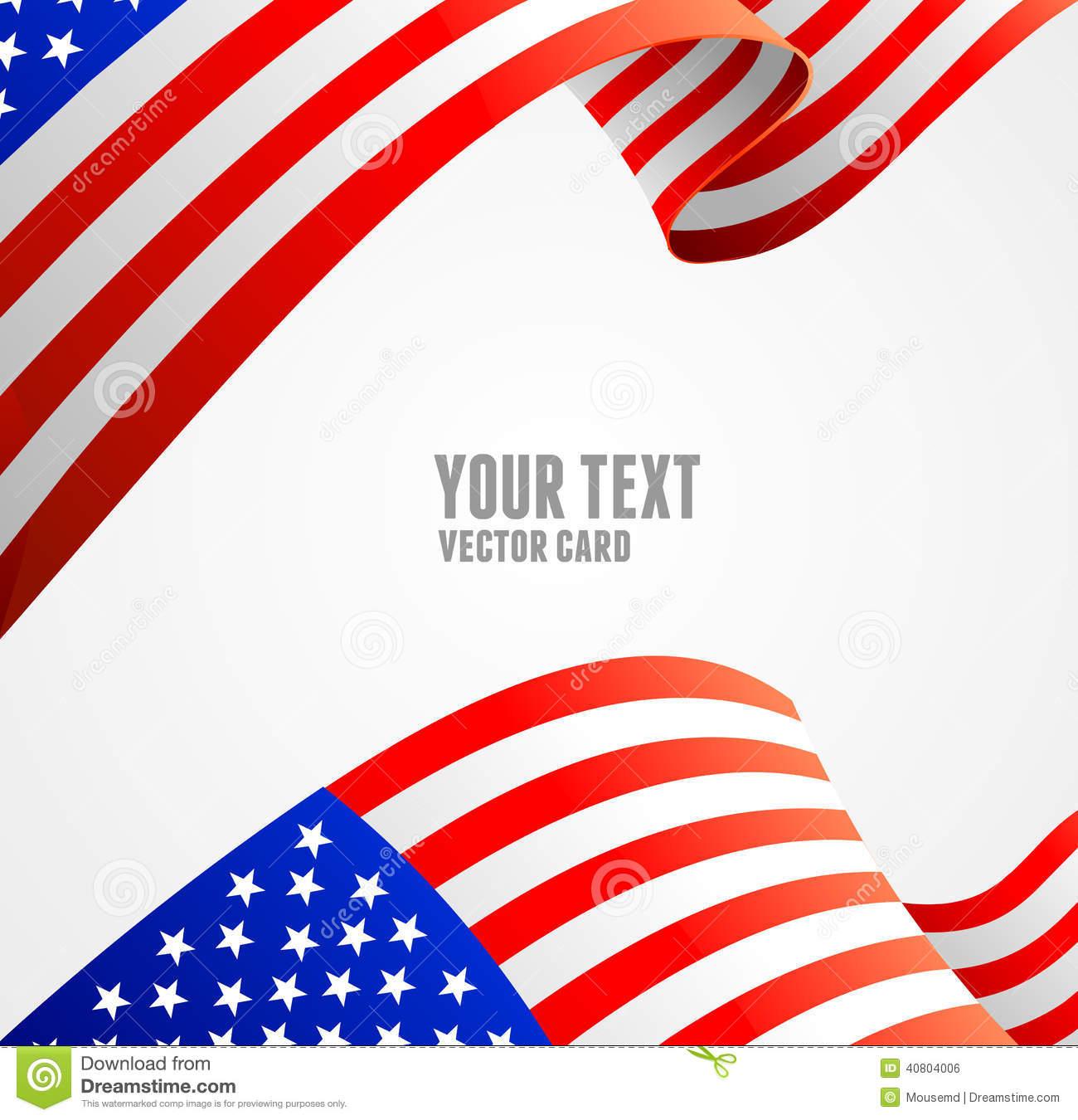 13 Patriotic Vector Borders Images
