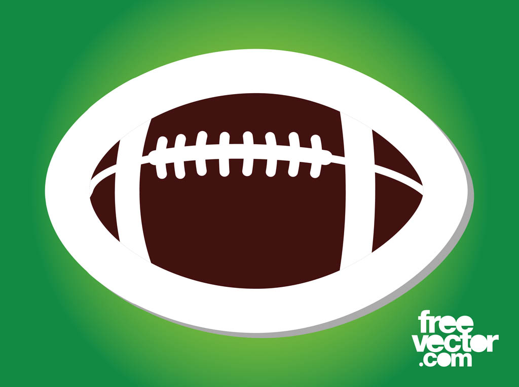 13 American Football Vector Graphics Free Images
