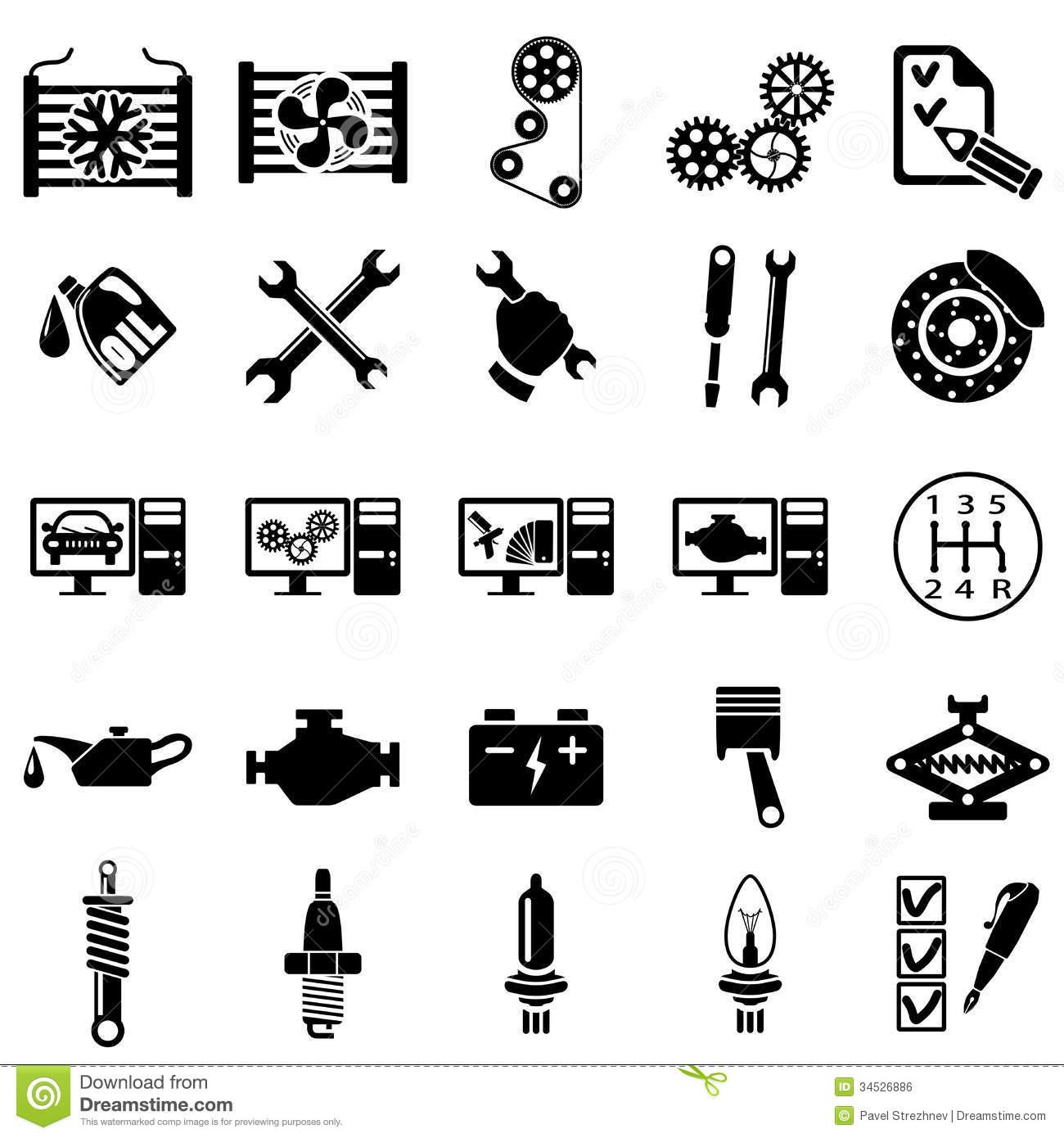 Auto Repair Vector Icon