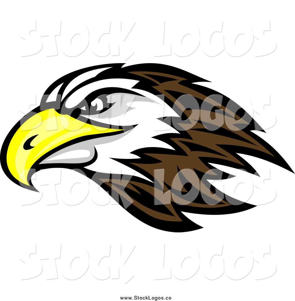 Bald Eagle Head Logo