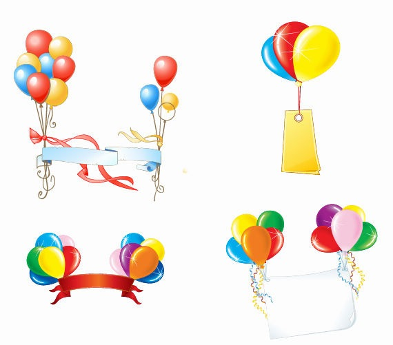 Balloon Vector Art Free