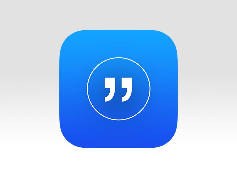 Best Quote App Icon