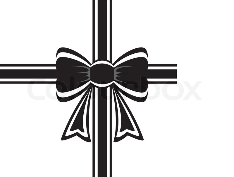 12 Bows White Ribbon Vectors Images