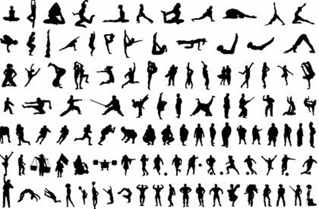 Body Silhouette Vector Free