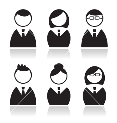 Business People Avatar Icons