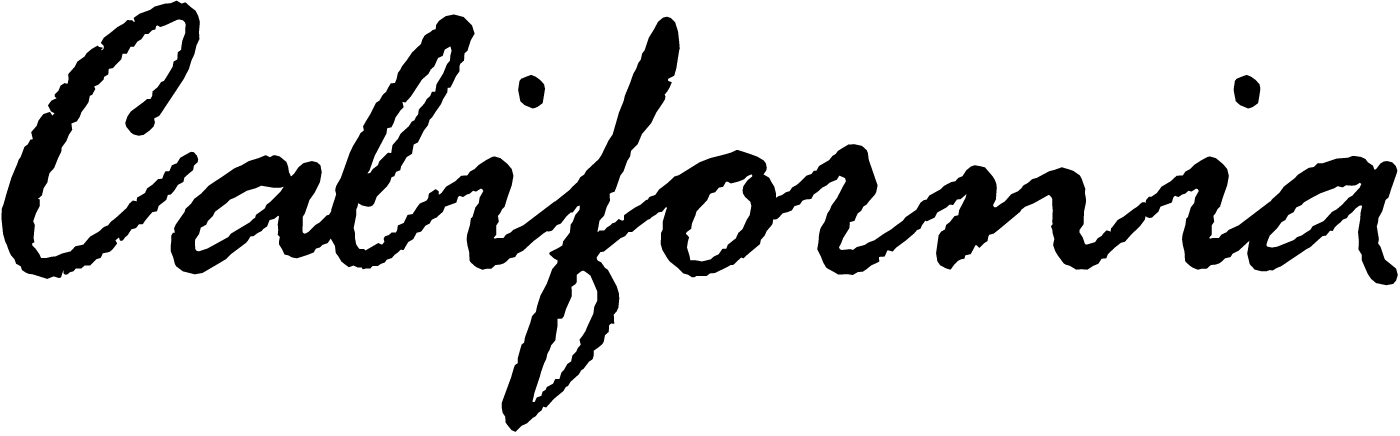 12 California License Plate Script Font Images