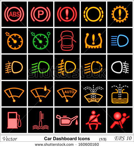15 Automotive Dashboard Icons Clip Art Images Car