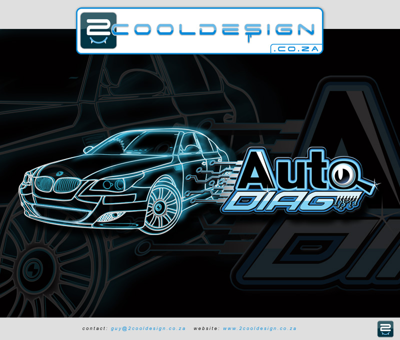 Cool Car Logo Design