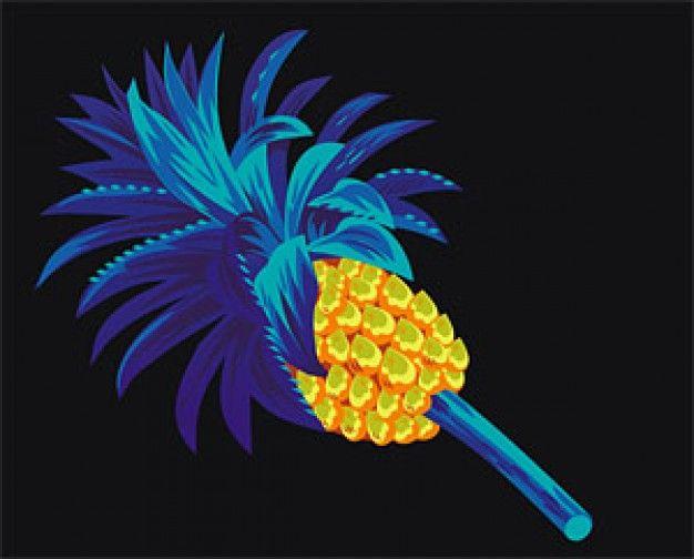 Cool Pineapple Graphics