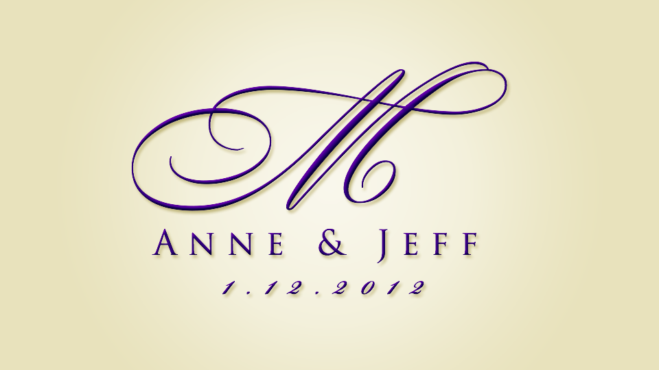 Design Your Own Wedding Logo
