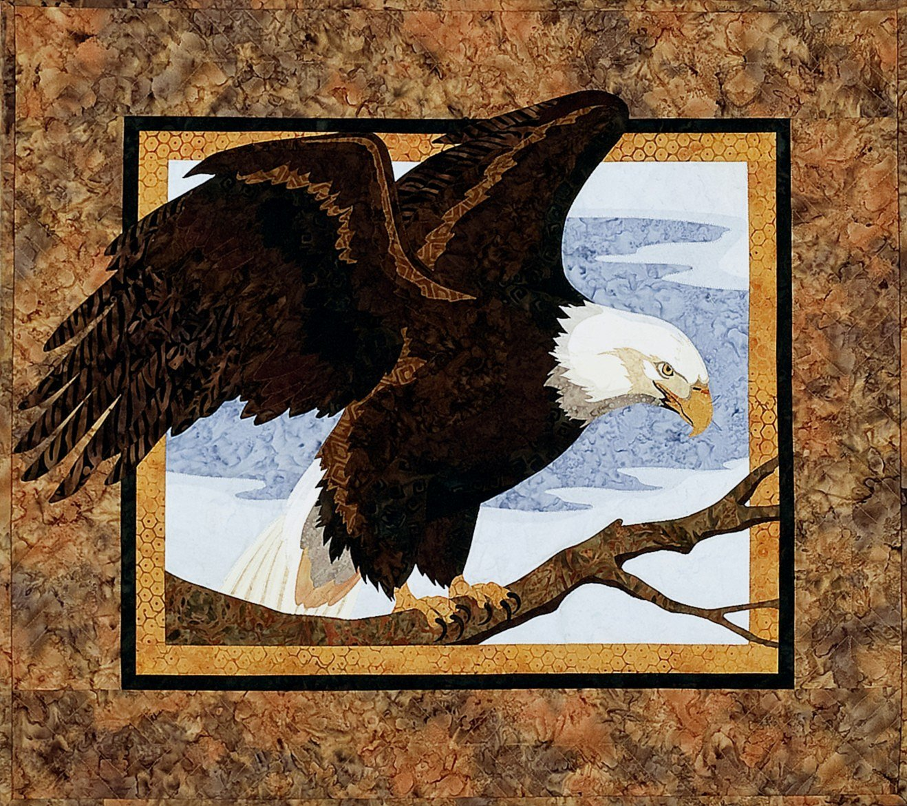 13 Eagle Quilting Designs Images - Paper Pieced Eagle Quilt Blocks