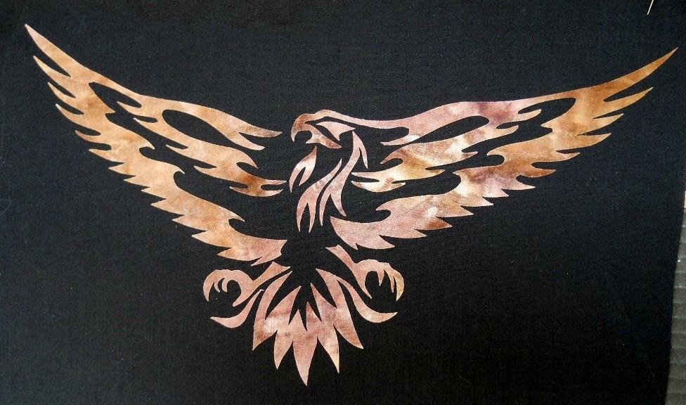 Eagle Applique Quilt Pattern
