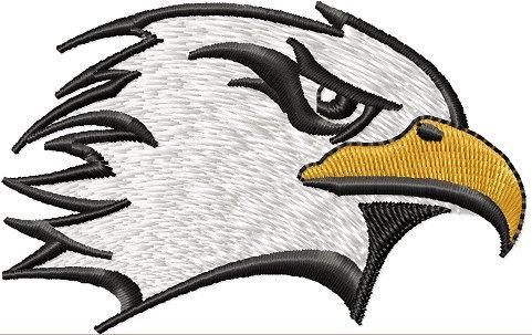 Eagle Head Embroidery Designs
