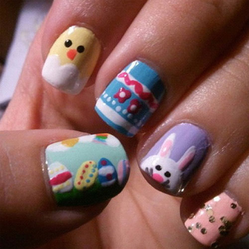 Easter Nail Art Design Ideas