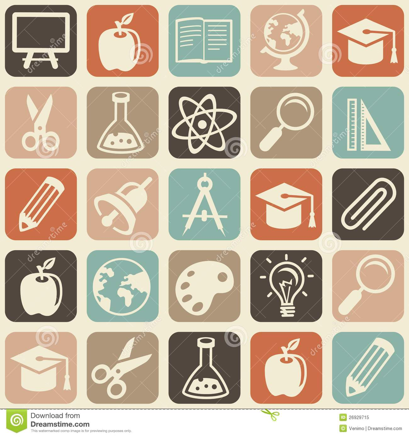 11 Education Vector Pattern Images - Seamless Patterns ...